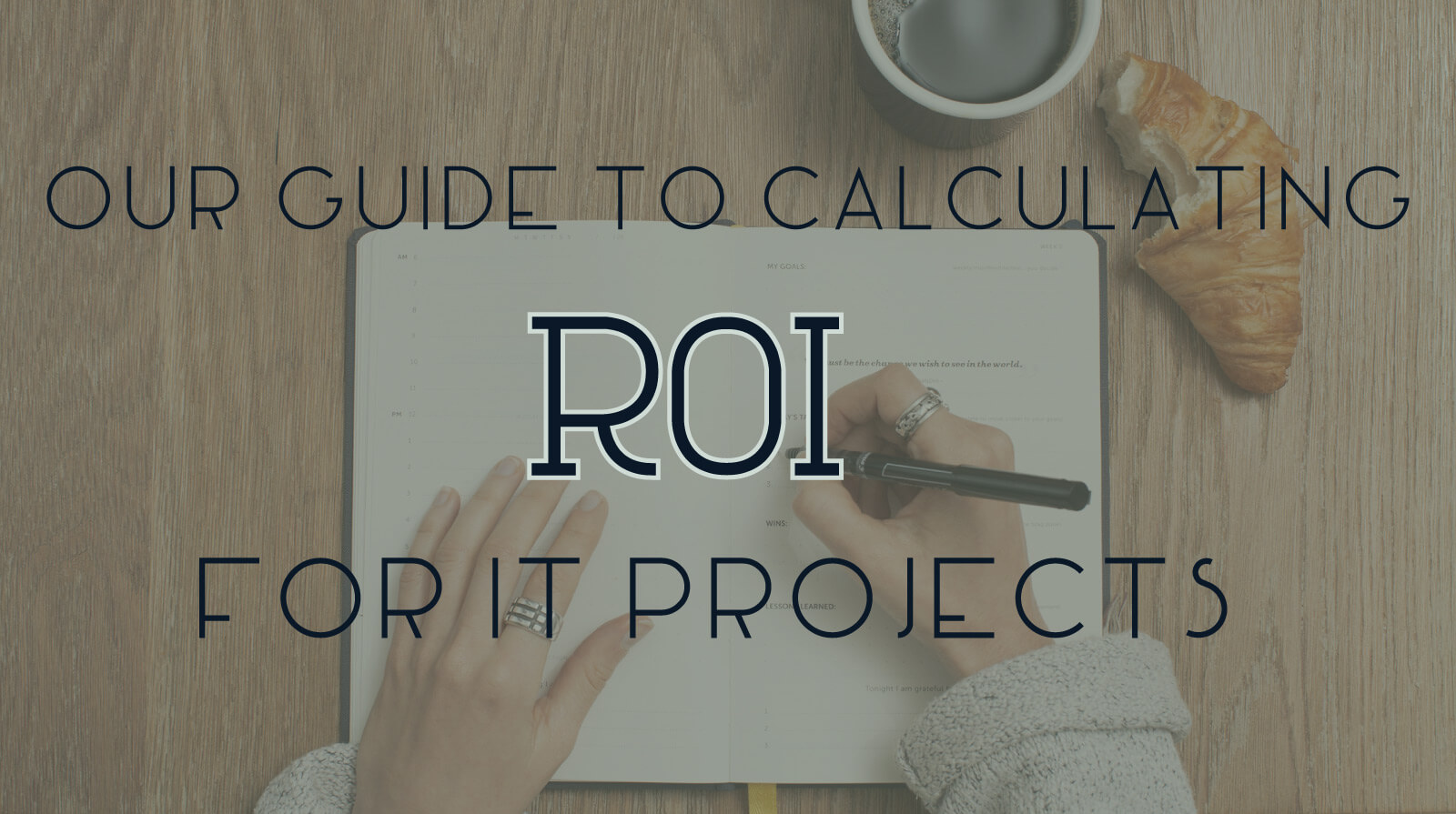 roi for it projects Calculating roi for it projects can be a tricky endeavor there are a lot of variables that can impact the outcome, so first you'll need to figure out what financial benefits you stand to gain enfocus solutions suggests that the financial benefits of it investments typically fall into five buckets.