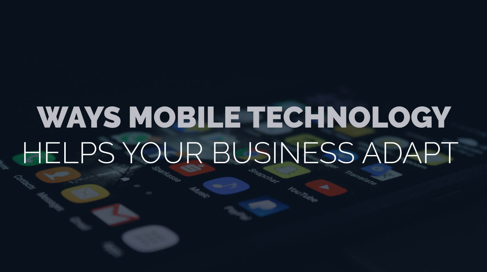 Managed IT Ann Arbor mobile technology