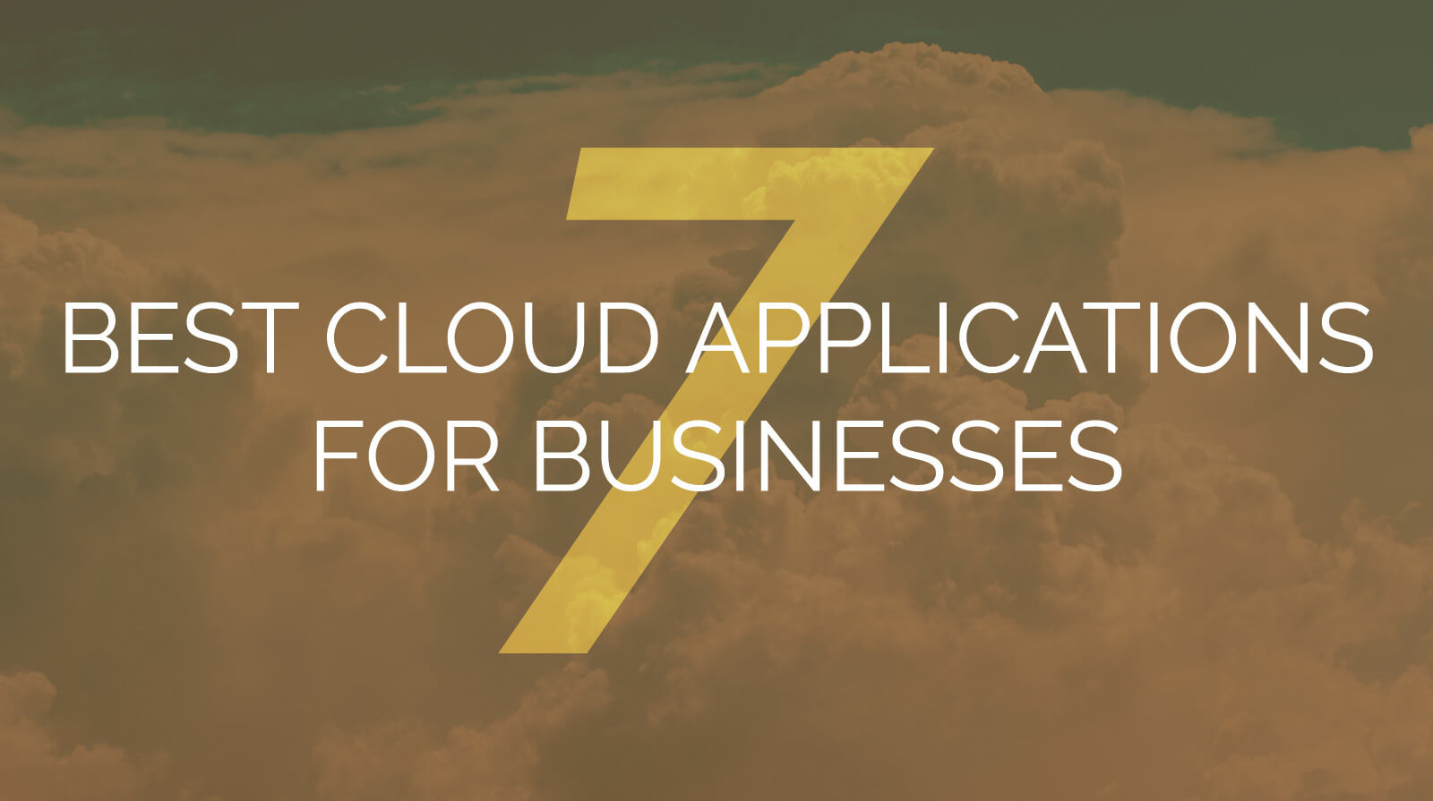 7 Best Cloud Applications for Businesses