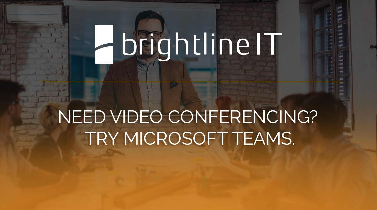 Need Video Conferencing? Try Microsoft Teams.